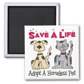 Adopt A Homeless Pet Magnet