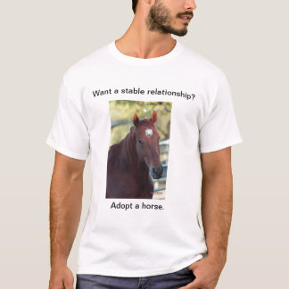 Adopt a Horse T-Shirt