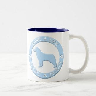 Adopt a Husky Mug