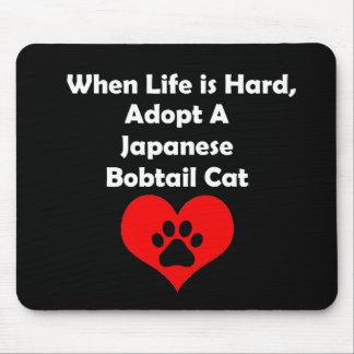 Adopt A Japanese Bobtail Cat Mouse Pad