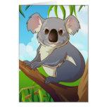 Adopt A Koala! Card