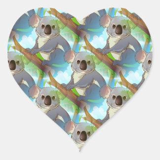 Adopt A Koala! Heart Sticker