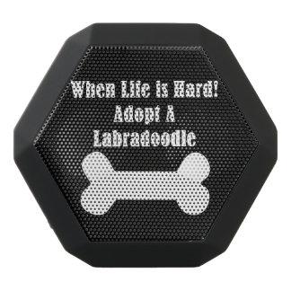 Adopt A Labradoodle Black Bluetooth Speaker