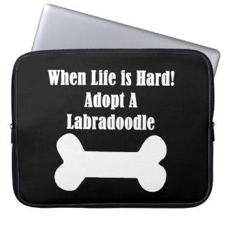 Adopt A Labradoodle Laptop Sleeve