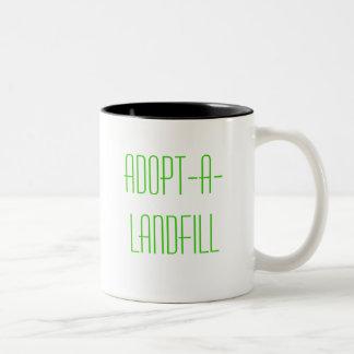 Adopt-A-Landfill Two-Tone Coffee Mug