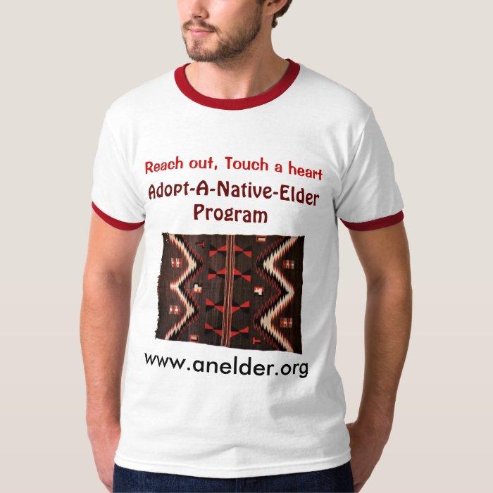 adopt a native elder mens shirt