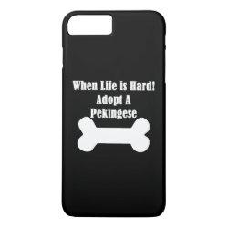 Case-Mate Tough iPhone 7 Plus Case with Pekingese Phone Cases design