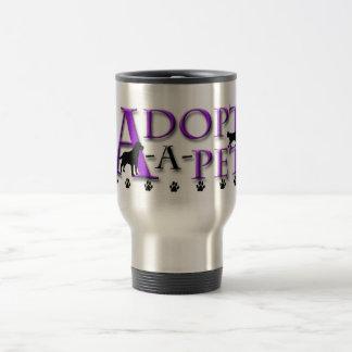 Adopt-A-Pet 15 Oz Stainless Steel Travel Mug