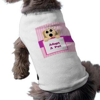 Adopt A Pet, Adorable Sign Tee