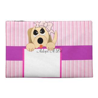 Adopt A Pet, Adorable Sign Travel Accessories Bag
