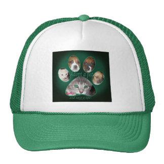 Adopt a pet trucker hat