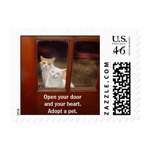 Adopt a Pet Postage Stamp