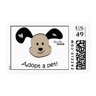 Adopt a pet stamp