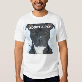ADOPT A PET T SHIRT
