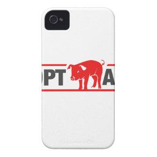 Adopt A Pig Case-Mate iPhone 4 Case