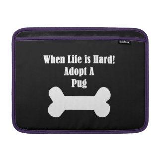 Adopt A Pug Sleeve For MacBook Air