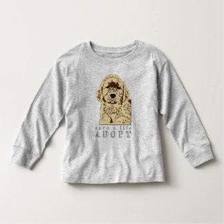 adopt-a-puppy toddler t-shirt