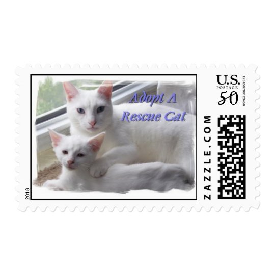 Adopt A Rescue Cat Postage