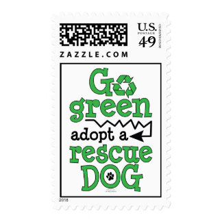Adopt a Rescue Dog! Postage Stamps