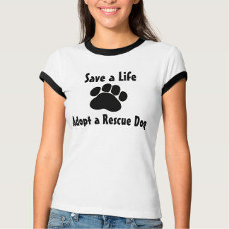 Adopt a Rescue Dog Tees