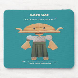 ADOPT A RESCUED CAT! MOUSEPADS