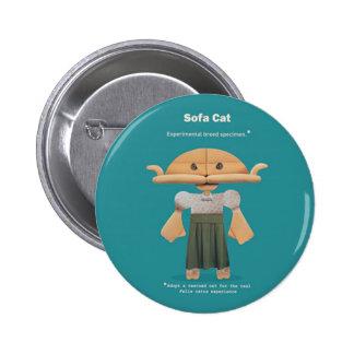 ADOPT A RESCUED CAT! PINS