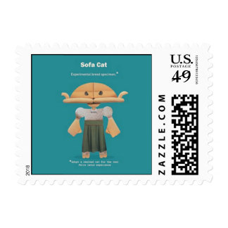 ADOPT A RESCUED CAT POSTAGE STAMPS