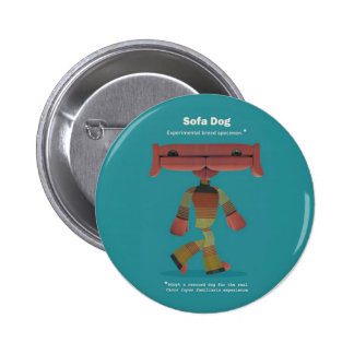 ADOPT A RESCUED DOG! 2 INCH ROUND BUTTON