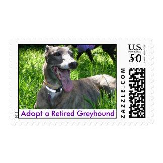 Adopt a Retired Greyhound Postage