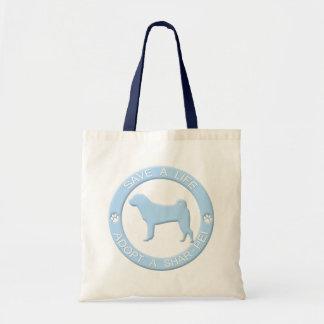 Adopt a Shar Pei Bag