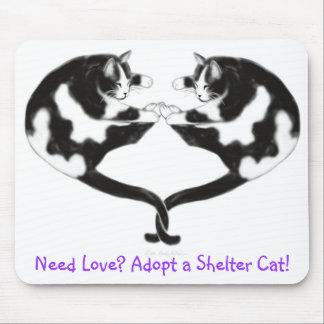 Adopt a Shelter Cat Mousepad