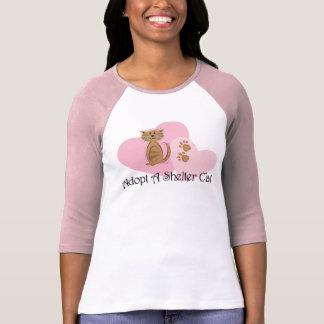 Adopt A Shelter Cat T-Shirt
