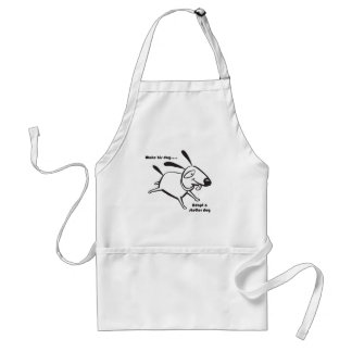 Adopt a Shelter Dog Adult Apron
