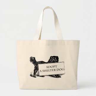 Adopt a Shelter Dog Bags