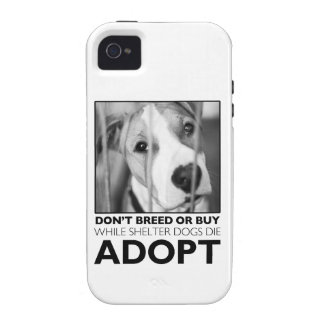 Adopt a Shelter Dog Case-Mate iPhone 4 Case