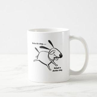 Adopt a Shelter Dog Coffee Mug
