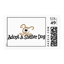 Adopt A Shelter Dog Postage