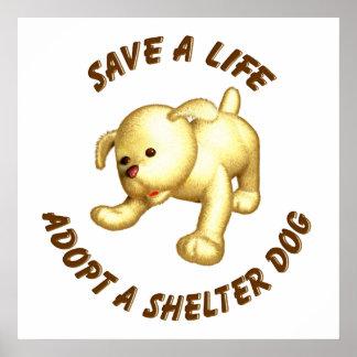 Adopt a Shelter Dog Poster