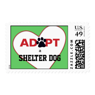 Adopt a Shelter Dog Stamps
