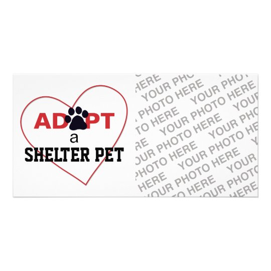 Adopt a Shelter Pet Card