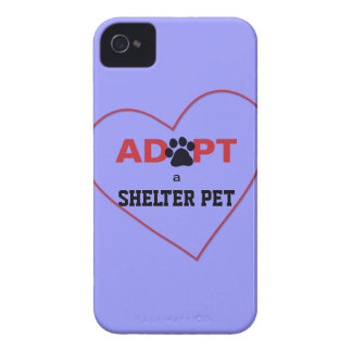 Adopt a Shelter Pet iPhone 4 Case-Mate Cases
