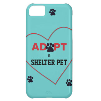 Adopt a Shelter Pet iPhone 5C Covers