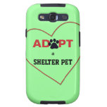 Adopt a Shelter Pet Galaxy SIII Cases