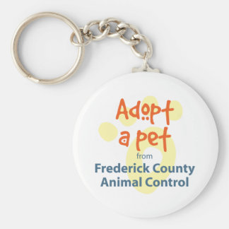 Adopt a Shelter Pet Keychain