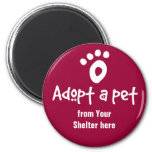 Adopt a Shelter Pet Magnets