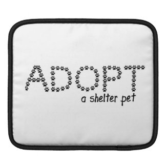 Adopt a Shelter Pet Paws Sleeve For iPads