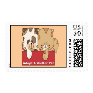 Adopt A Shelter Pet Postage