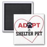 Adopt a Shelter Pet Refrigerator Magnet