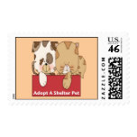 Adopt A Shelter Pet Stamps
