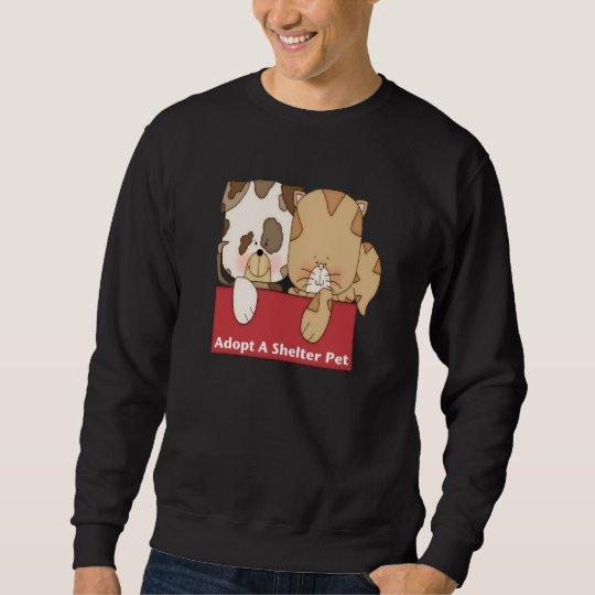 Adopt A Shelter Pet Sweatshirt